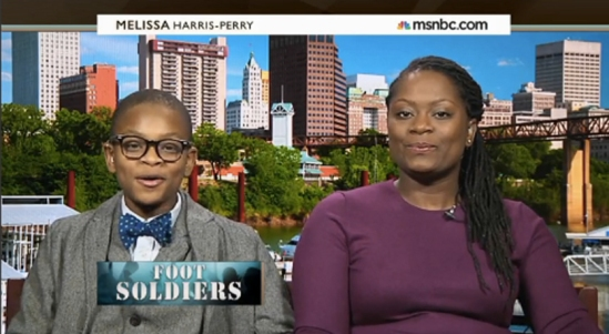 "12-year-old who launched his bow tie company ""Mo's Bows"""