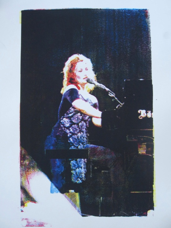 Tori Amos art prints by Karen Sparks