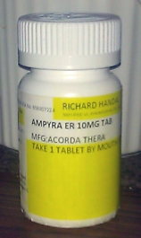 Ampyra bottle